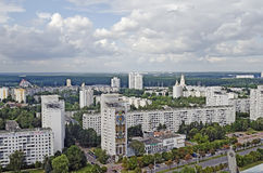 Panorama of Minsk Royalty Free Stock Images