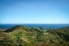 Panorama-Mittelmeer stockbilder