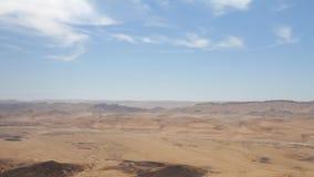 Panorama of Mitzpe Ramon Stock Image