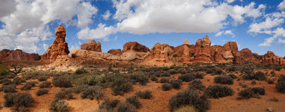 Panorama Moab Utah Royalty Free Stock Photos