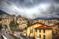 Panorama  of modern Nice, France Stock Photography