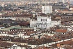 Panorama from Mole Antonelliana, Turin, Italy Stock Images