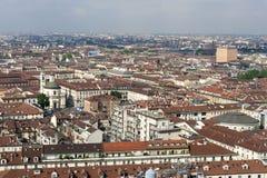 Panorama from Mole Antonelliana, Turin, Italy Stock Photo