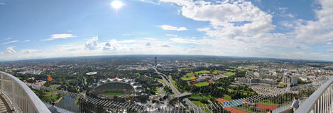 Panorama Monachium 1 zdjęcie stock
