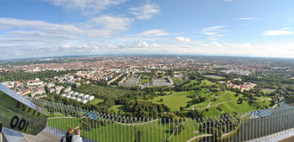 Panorama Monachium zdjęcie stock