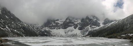 Panorama montañoso del Tatras2 Foto de archivo libre de regalías