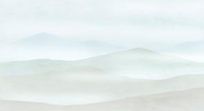 Panorama montanhoso ilustração royalty free