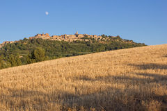 Panorama of Montepulciano Royalty Free Stock Photos
