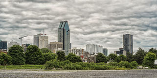 Panorama of Montreal royalty free stock images