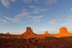 Panorama of Monument Valley Royalty Free Stock Photo