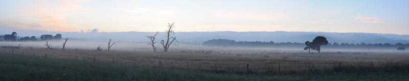 Panorama at Mornington Peninsula Stock Photography