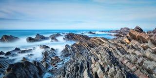 Panorama morze i falezy. Obraz Stock