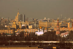 Panorama Mosca del centro della Russia immagine stock