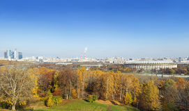 Panorama of Moscow Stock Photos