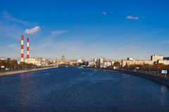 Panorama of Moscow Royalty Free Stock Image