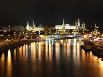Panorama of Moscow Royalty Free Stock Photography