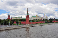 Panorama of Moscow centre Royalty Free Stock Photos