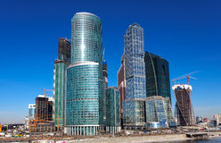 Panorama of Moscow City, Russia Stock Photography