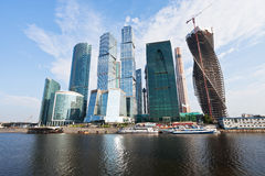 Panorama of Moscow city Stock Photo