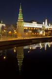 Panorama of the Moscow Kremlin Stock Image