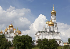 Panorama Of The Moscow Kremlin Royalty Free Stock Images