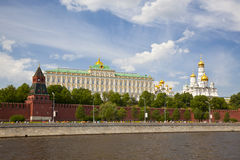 Panorama Of The Moscow Kremlin Stock Images