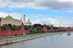 Panorama of Moscow Kremlin Royalty Free Stock Image