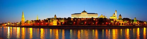 Panorama of Moscow Kremlin Stock Photos