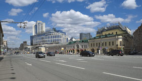 Panorama of Moscow Royalty Free Stock Photo