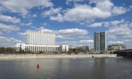 Panorama of Moscow Stock Photos