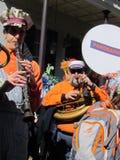 Panorama Mosiężnego zespołu karnawał Obraz Royalty Free