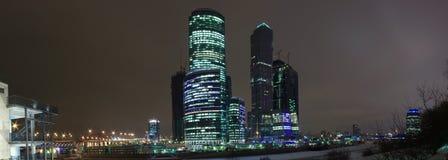 Panorama-Moskau-Stadt Lizenzfreie Stockfotografie