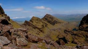 Panorama of mount brandon Royalty Free Stock Image