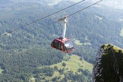 Panorama from Mount Pilatus, Switzerland Stock Photo