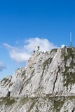 Panorama from Mount Pilatus, Switzerland royalty free stock photo
