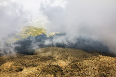 Panorama from Mount Tahtali, Turkey, Kemer Royalty Free Stock Photo