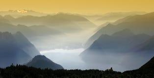 panorama mountain zdjęcia stock