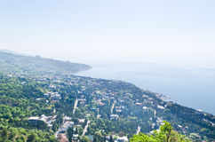 Panorama from mountain Royalty Free Stock Images