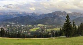 panorama mountain Zdjęcia Royalty Free