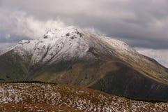 Panorama mountain autumn landscape. Tatry.  royalty free stock photos