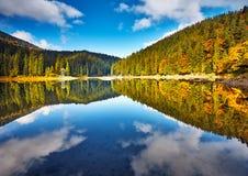 Panorama mountain lake Royalty Free Stock Photo