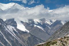 The panorama of mountain landscape of Ala-Archa national park Royalty Free Stock Photography