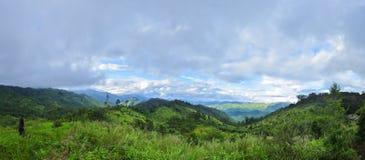 Panorama mountain at Maewong National Park Royalty Free Stock Image