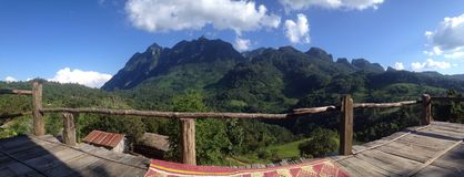 Panorama mountain Stock Image