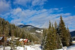 Panorama Mountain Ski Resort in Canada Stock Image