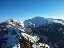 Panorama mountain spring landscape. Tatry.  stock images