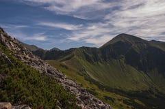 Panorama mountain summer landscape. Tatry.  royalty free stock photo