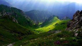 Panorama mountain summer landscape. Tatry.  stock photos