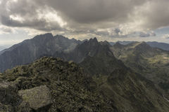 Panorama mountain summer landscape. Tatry. Slovakia.  royalty free stock photos