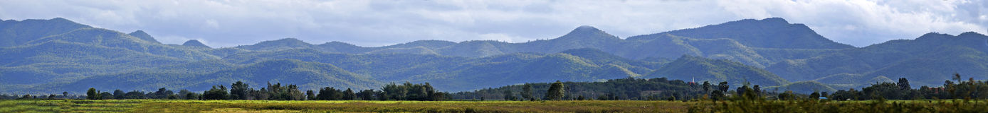 Panorama Mountain in Thailand Royalty Free Stock Image